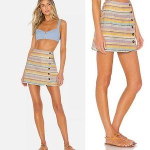 NWT ~ ELLEJAY Revolve Lele Striped Skirt